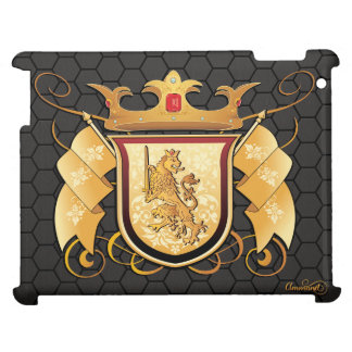 Royal Lion Crest iPad Case For The iPad
