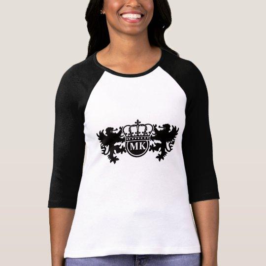 Royal Lion Monogram T-Shirt
