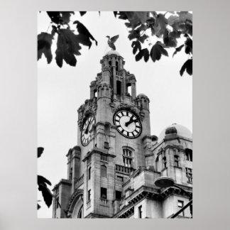 Royal Liver Building Liverpool Poster
