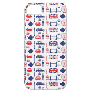 Royal London Landmarks Pattern Barely There iPhone 5 Case