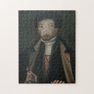Royal Luxury Royal Mr. Artist Portrait Puzzle