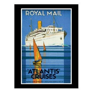 Royal Mail Atlantis Cruises Post Card
