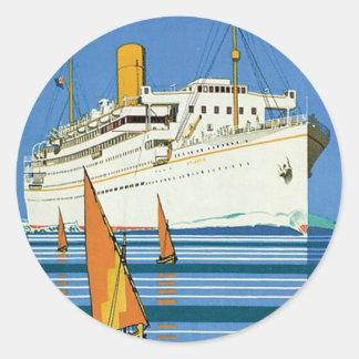 Royal Mail Atlantis Cruises Sticker