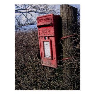Royal Mail Postbox Postcard