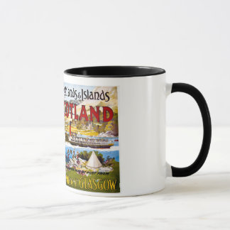 Royal Mail Steamers Glasgow Vintage Mug