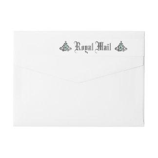 Royal Mail Wraparound Return Address Label