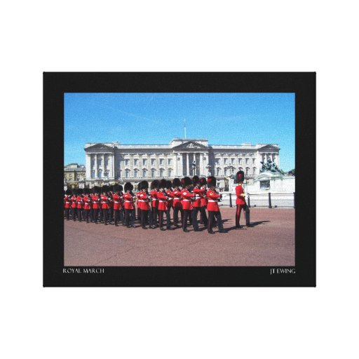 Royal March Stretched Canvas Prints