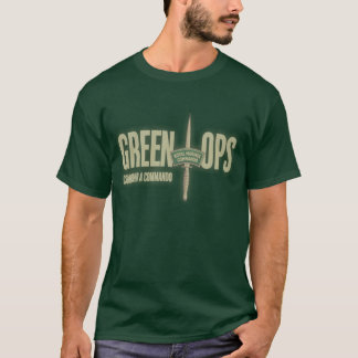 Royal Marine's Commando Green OpsT-shirt T-Shirt