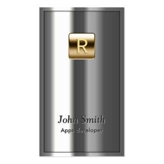 Royal Metallic Apps developer Business Card