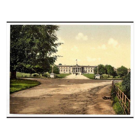 Royal Military College, Sandhurst, Camberley, Engl Postcard