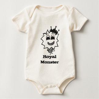 Royal Monster Baby Bodysuit