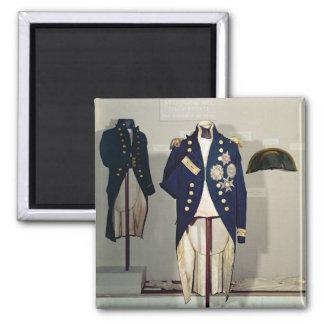Royal Naval uniform worn Fridge Magnet