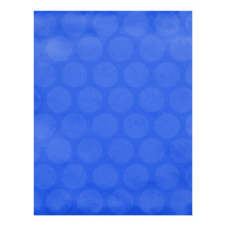 ROYAL OCEAN BLUE HONEYCOMB PATTERN TEMPLATE DIGIT PERSONALIZED FLYER