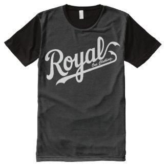 Royal One BaseBall Tee All-Over Print T-Shirt