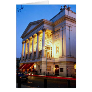 Royal Opera House, Covent Garden, London, England Card