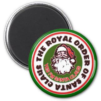 Royal Order of Santa Claus 6 Cm Round Magnet