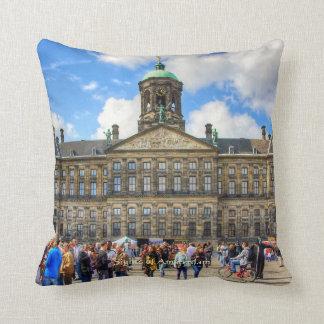 Royal Palace - Dam Square, Sights of Amsterdam Cushion