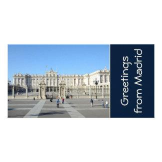 Royal Palace, Madrid Photo Card