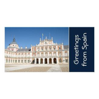 Royal Palace of Aranjuez Customised Photo Card