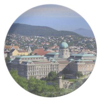 Royal Palace Of Buda Plate