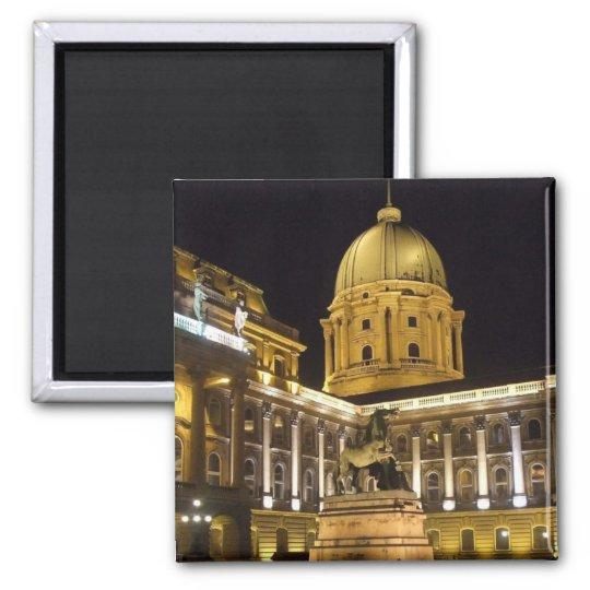 Royal Palace Square Magnet