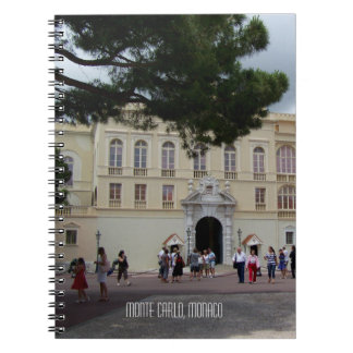 Royal Palce of Monaco in Monte Carlo France Spiral Notebook