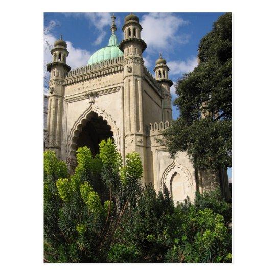 Royal Pavilion Brighton England Postcard