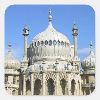 Royal Pavilion, Brighton, Sussex, England Square Sticker