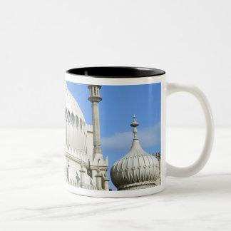 Royal Pavilion, Brighton, Sussex, England Two-Tone Coffee Mug