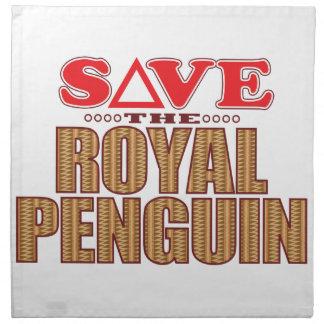Royal Penguin Save Napkin