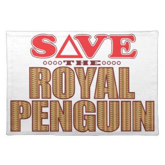 Royal Penguin Save Placemat