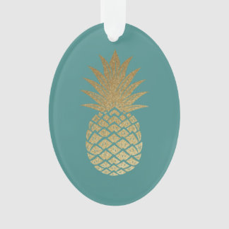 Royal Pineapple Christmas Tree Ornament