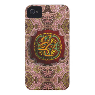 Royal Pink Paisley Case-Mate iPhone 4 Cases