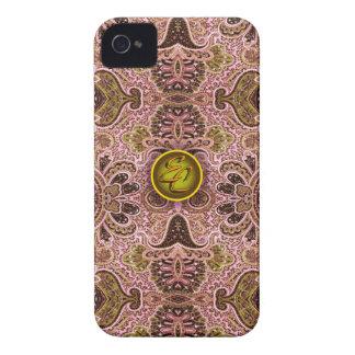 Royal Pink Paisley EC iPhone 4 Cover