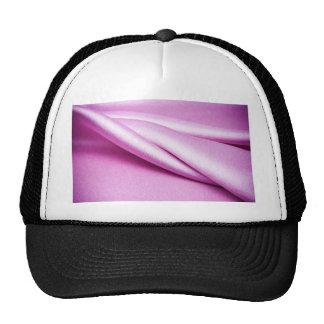 royal pink velvet silk textile elegant chic lovely trucker hat