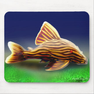 Royal Pleco Mousepad