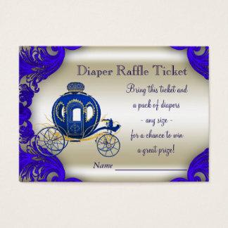 Royal Prince Diaper Raffle Tickets