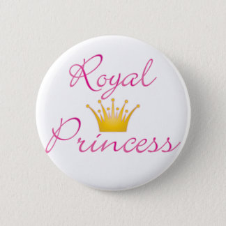 Royal Princess 6 Cm Round Badge