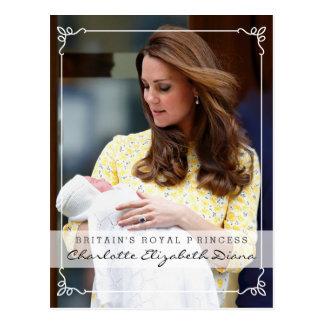 Royal Princess - William & Kate Postcard