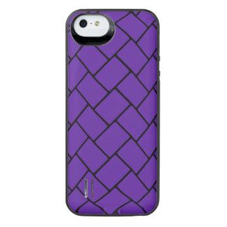 Royal Purple Basket Weave 2 iPhone 6 Plus Case