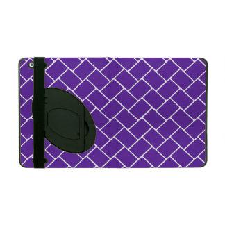 Royal Purple Basket Weave Case For iPad