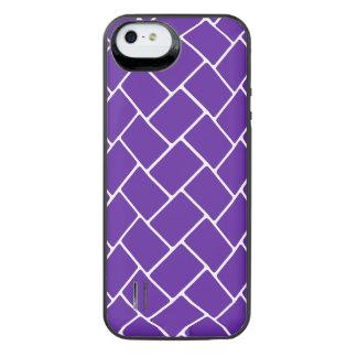 Royal Purple Basket Weave iPhone 6 Plus Case