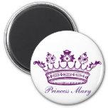 Royal Purple Crown Magnets