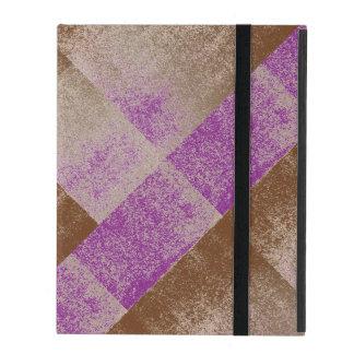 Royal Purple Distressed Effect Chenille Contempo iPad Folio Cover