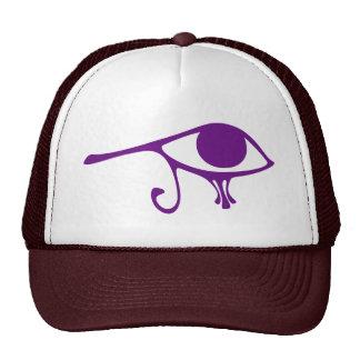 Royal Purple Eye of Horus Hats