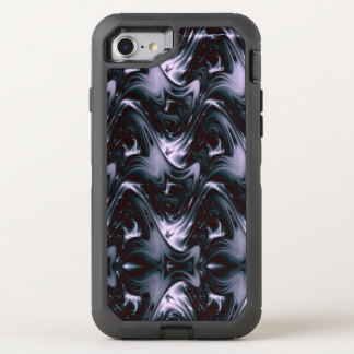 Royal Purple  Fractal OtterBox Defender iPhone 8/7 Case