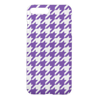 Royal Purple Houndstooth 1 iPhone 7 Plus Case