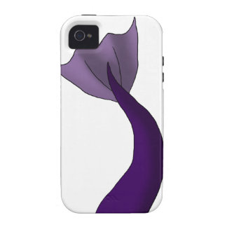 Royal Purple Mermaid Tail Case-Mate iPhone 4 Cover