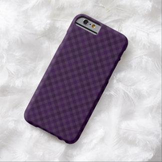 Royal Purple Plaid Custom iPhone 6 Case