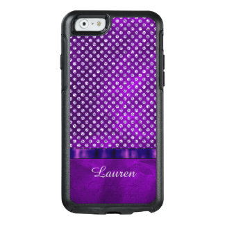 Royal Purple Silver Gem OtterBox iPhone 6/6s Case